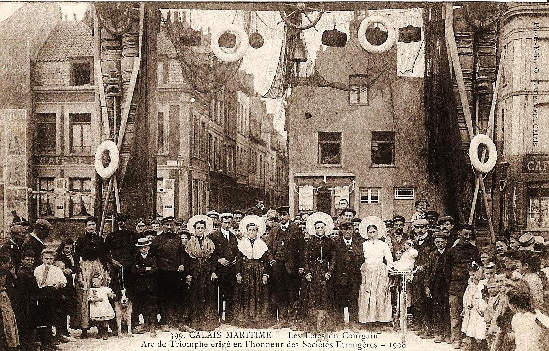 Arc de triomphe en 1908