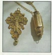 Barillet et croix