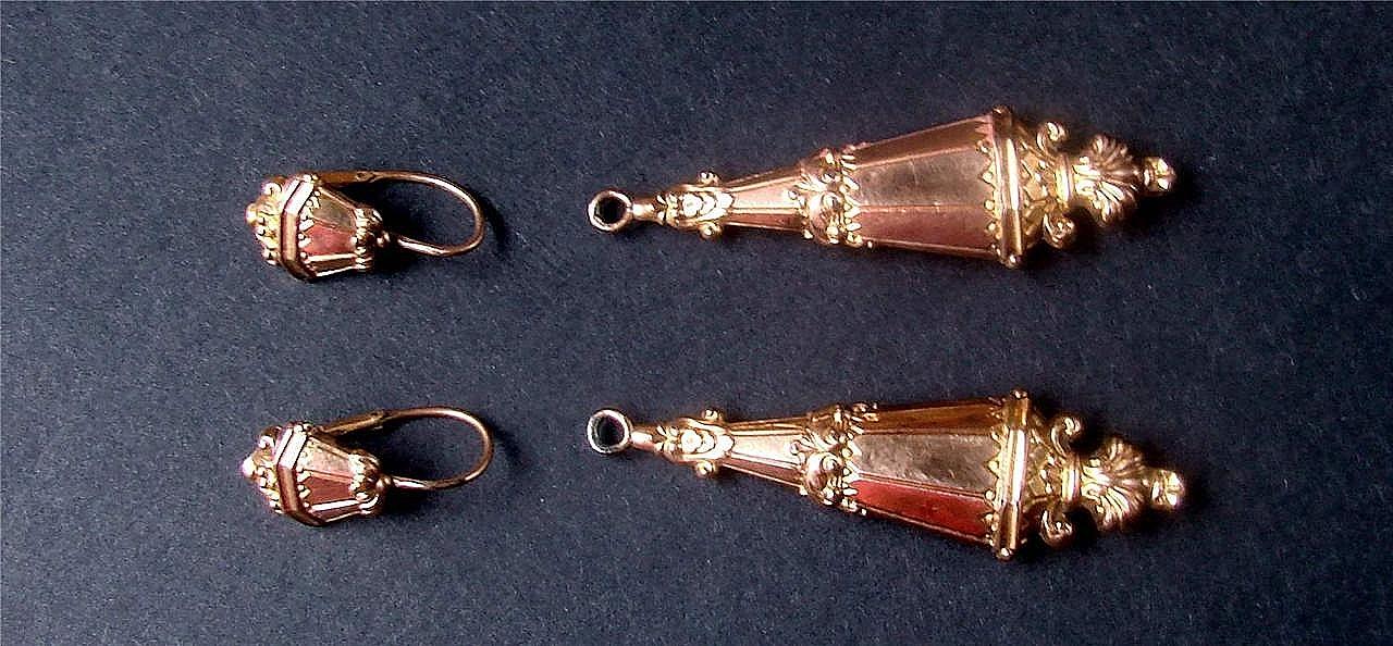Boucles d oreilles matelotes napoleon 3
