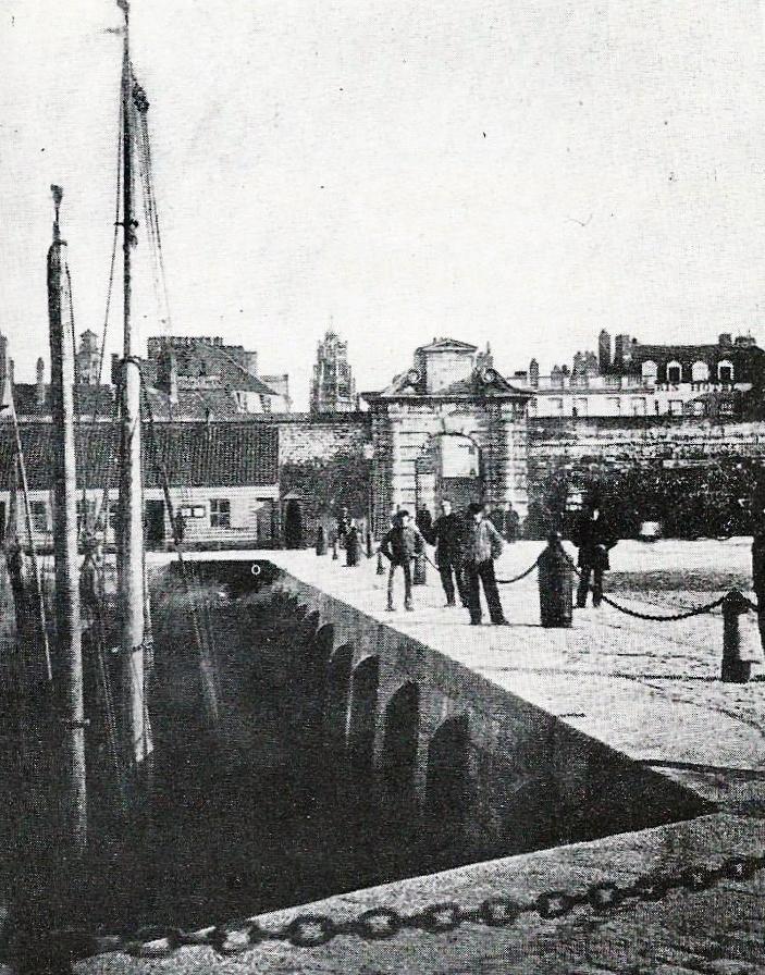 Sc nes sur les quais du courgain de calais - Bassin recreatif ancienne lorette calais ...