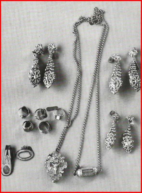 Calais bijoux de la courguinoise encadre
