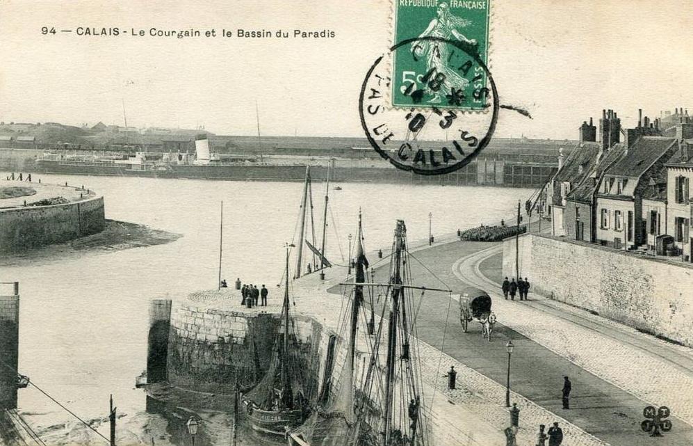 Calais courgain belle vue sur le courgain