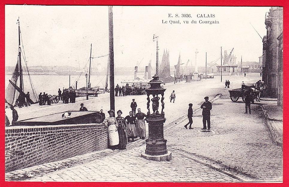 Calais courgain et sa fontaine wallace