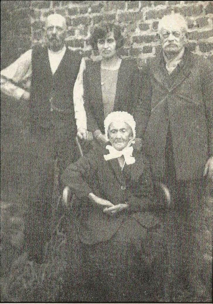 Calais courgain mme nathalie leuliet veuve leprince centenaire en 1930