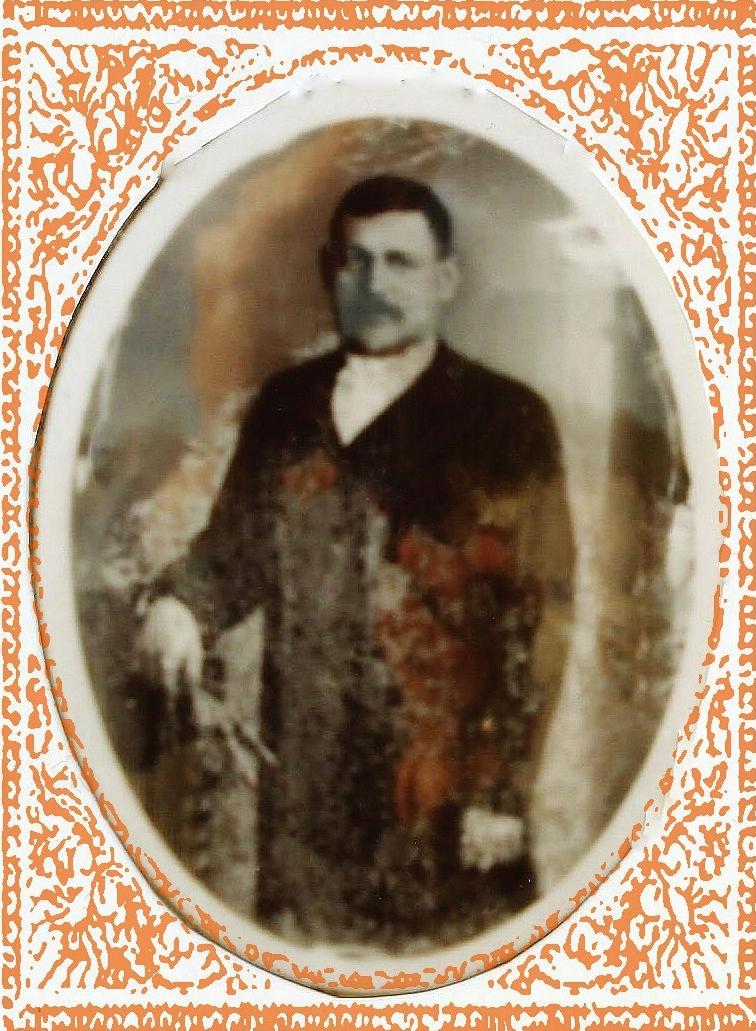 Calais courguinois pierre charles mulard 1877 1952 epoux de marie dupuis encadre