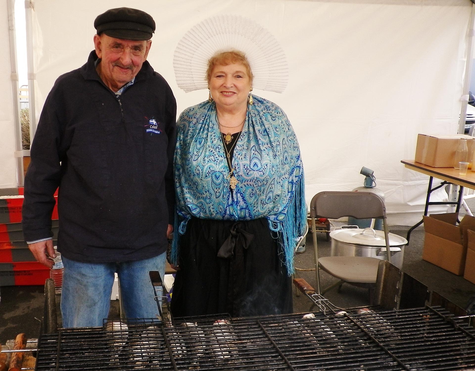 Calais fete du hareng au courgain la cuisson des harengs