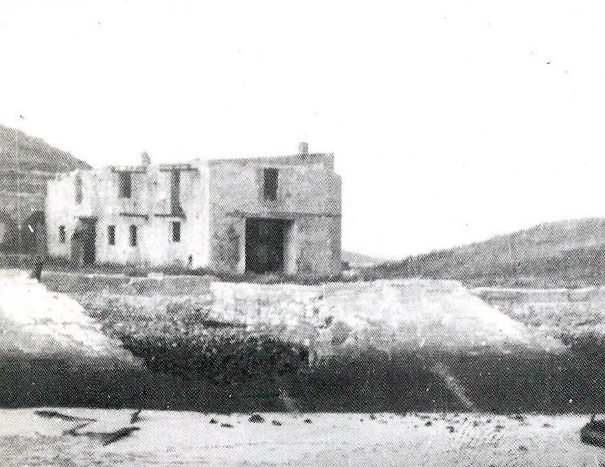 Calais fort risban le corps de garde en 1940 ww2