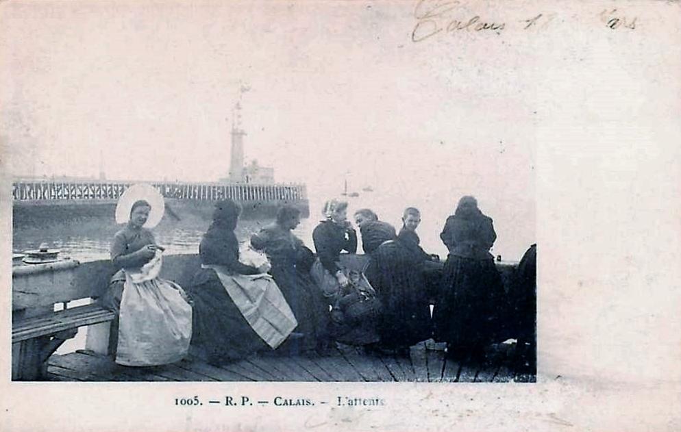 Calais l attente des pecheurs