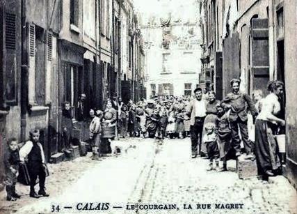 Calais la rue magret animee