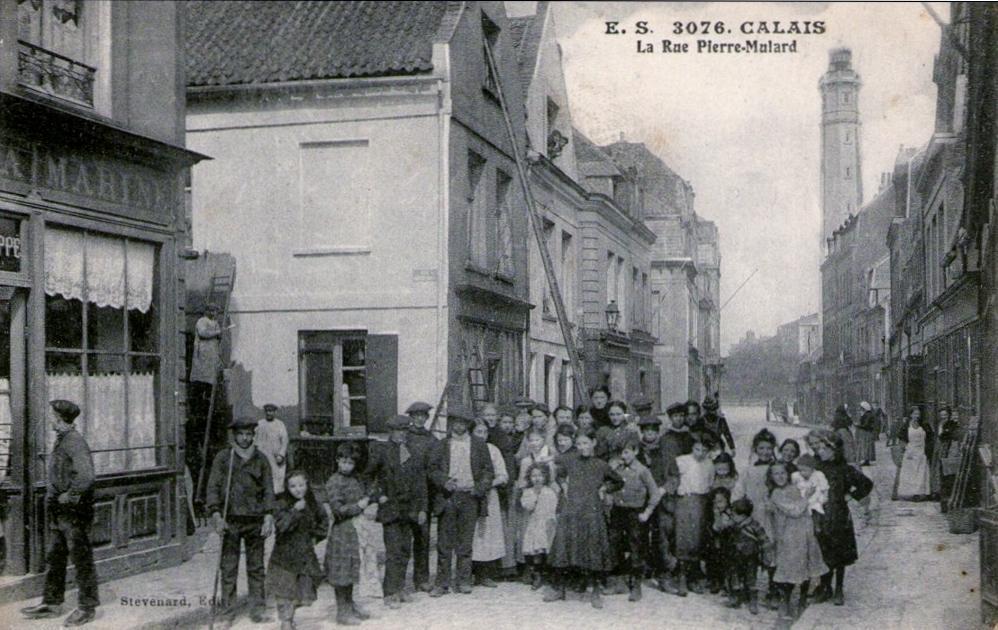 Calais la rue pierre mulard au Courgain