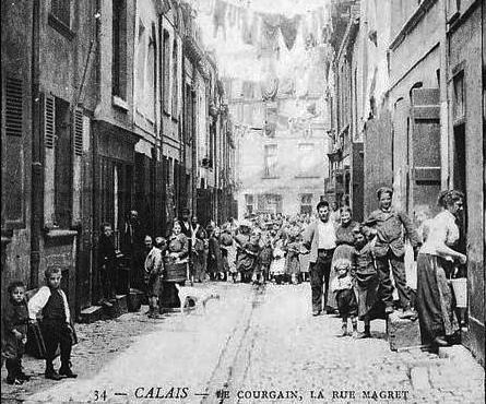 Calais le courgain rue magret