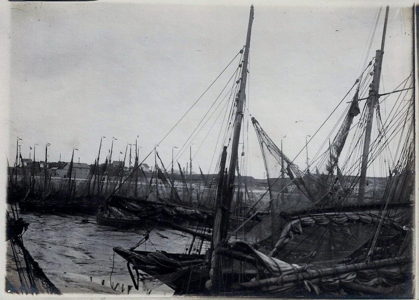 Calais le port 1903