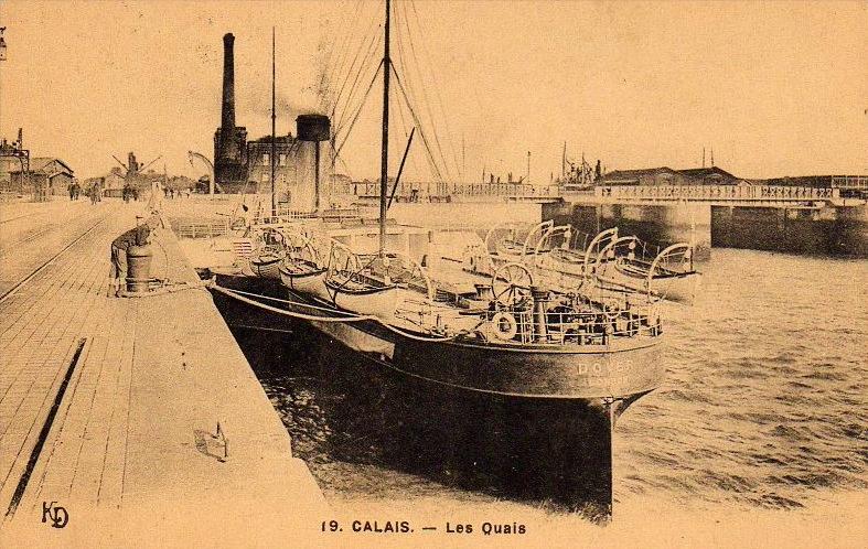 Calais les quais