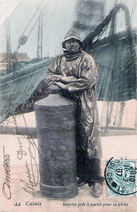 Calais matelot pret a partir pour la peche