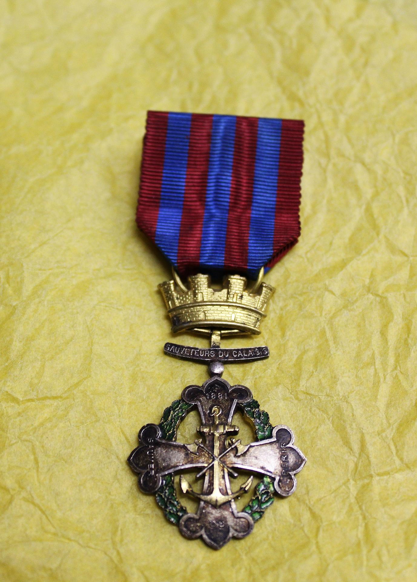 Calais medaille des sauveteurs du calaisis 3