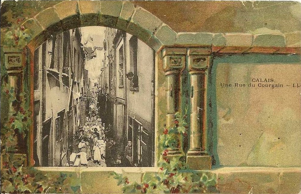 Calais photomontage rue du courgain