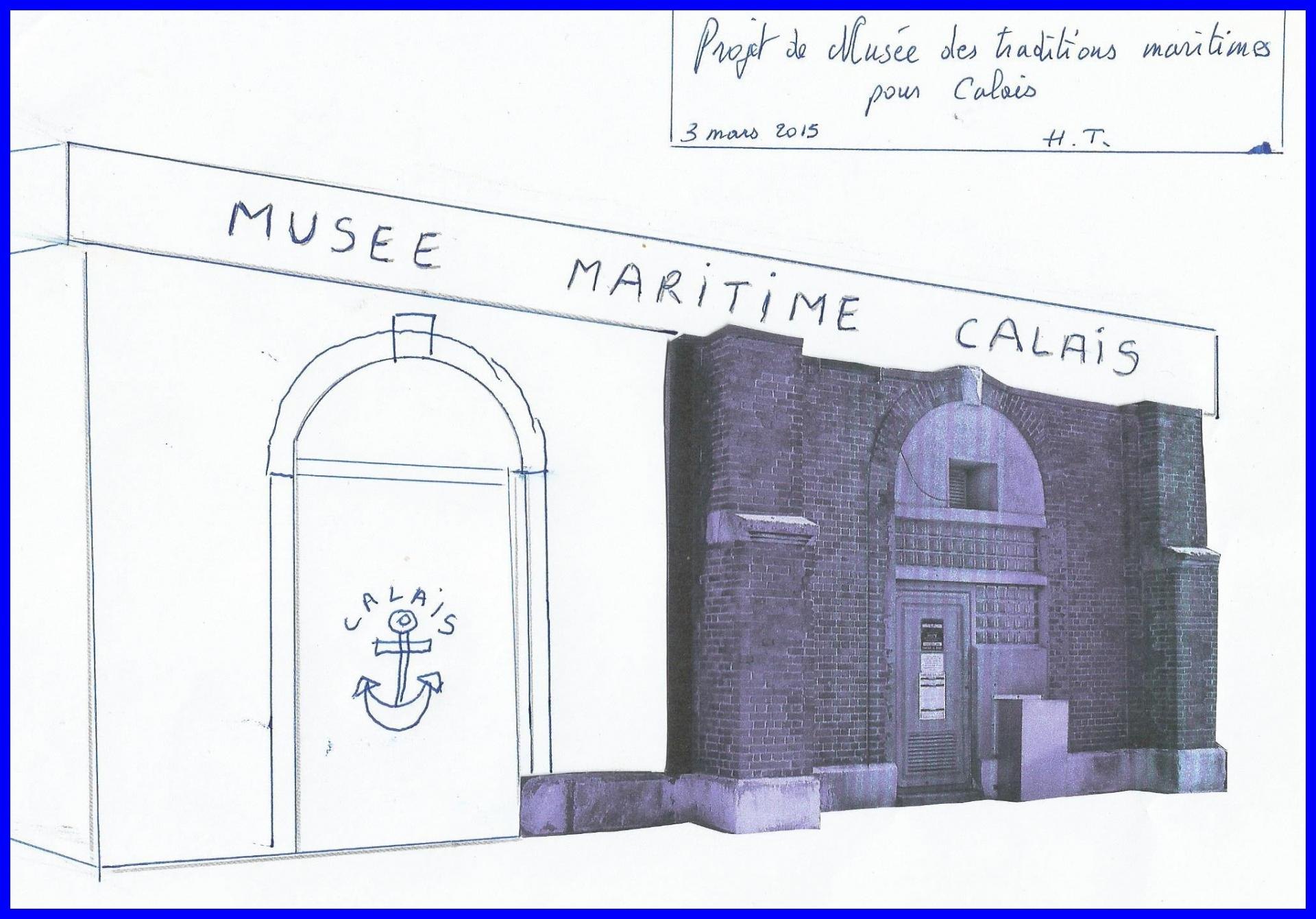 Calais projet musee maritime encadre