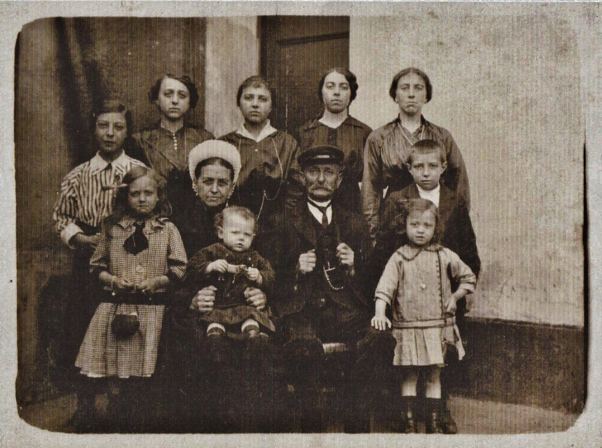 Calais une famille courguinoise