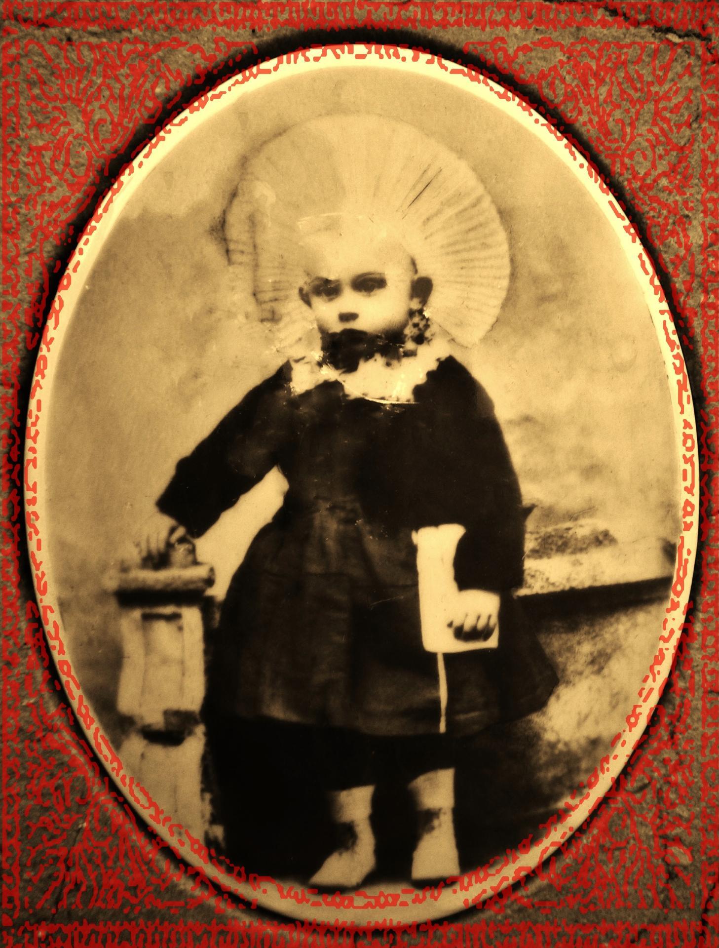 Courguinoise eleonore gomer 1904 1909 encadree