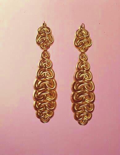 Dorlots calaisiens pendants d'oreilles calais
