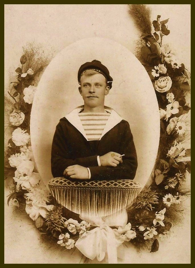 Henri calmels pecheur des hemmes de maeck mort en 1935 en islande encadre