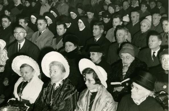 Inauguration de l eglise 30 mars 64saint pierre saint paul tite marie marie barbet