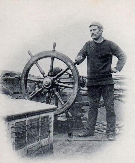 Islandais un capitaine a la barre