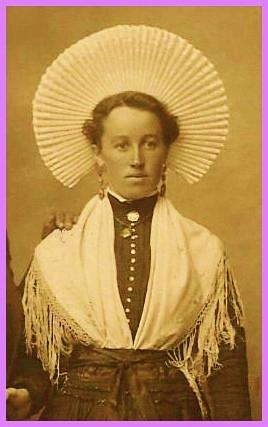 Marie lenthieul du courgain de calais encadree
