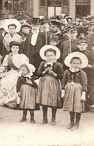 Nomination reine du courgain 1907