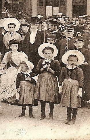 Nomination reine du courgain 1908