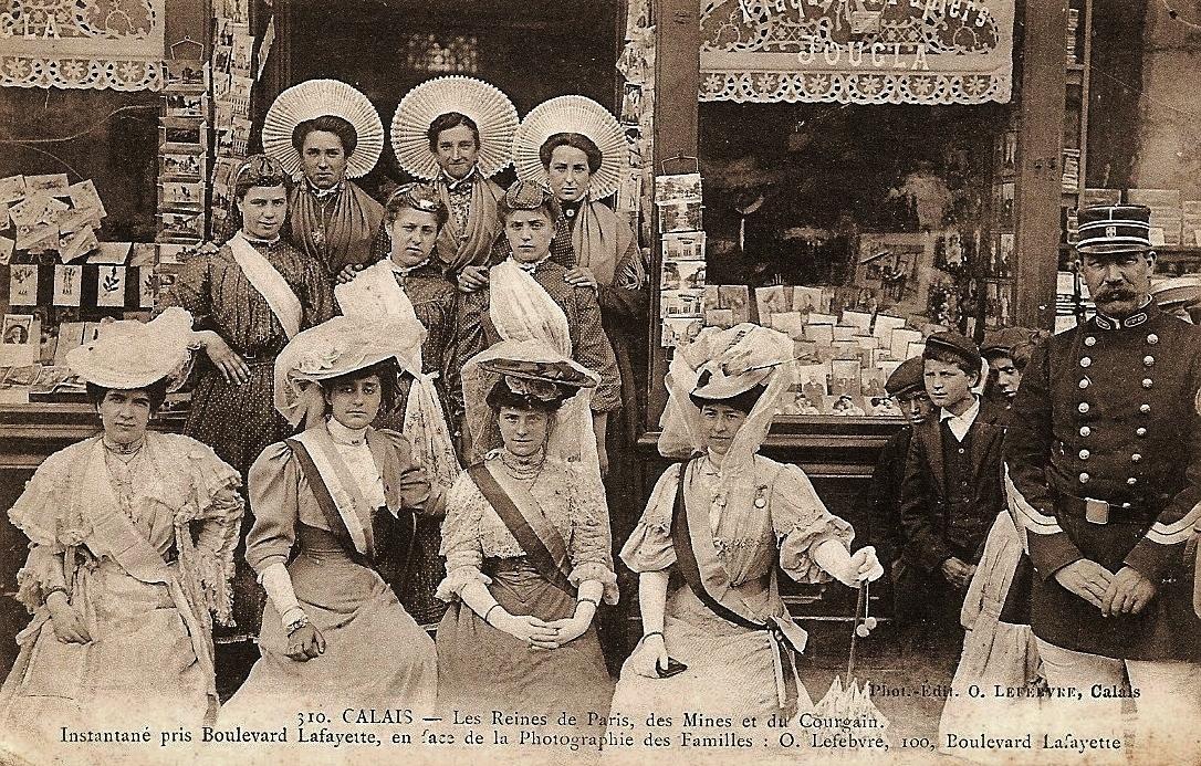 Reines du courgain devant o lefebvre 1907